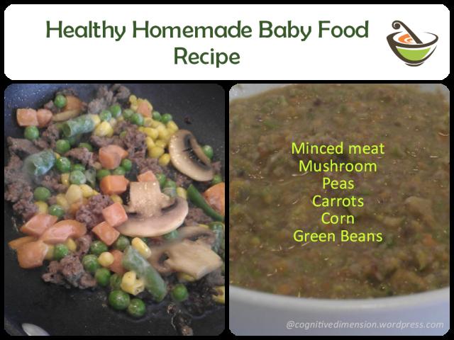 Healthy Homemade Baby Food Recipe