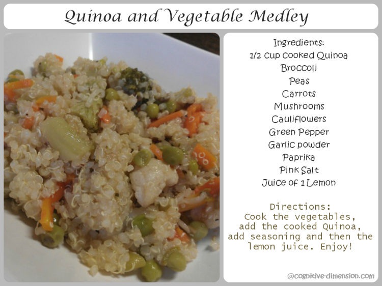 Quinoa and Vegetable Medley